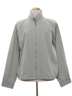 1960's Mens Mod Golf Zip Jacket