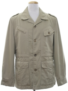 1970's Mens Hunting Field Jacket