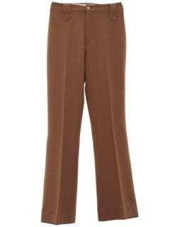 1970's Womens Western Style Flared Knit Pants