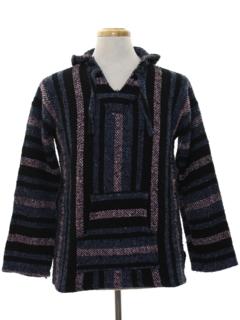 1980's Mens Baja Hippie Jacket