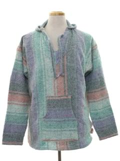1990's Mens Baja Hippie Jacket