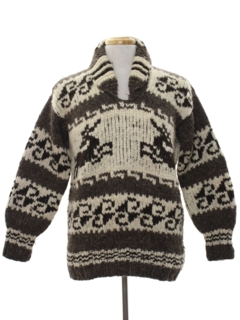 1980's Mens Hippie Sweater