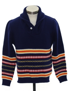 1980's Mens/Boys Ski Sweater