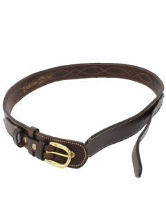 1990's Mens Accessories - Western Belt