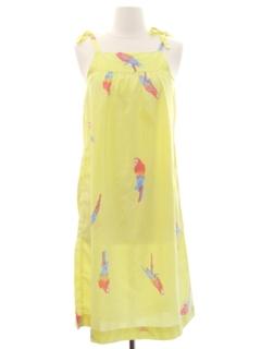 1970's Womens A-Line Sun Dress