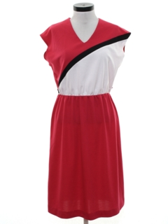 1980's Womens Totally 80sDress