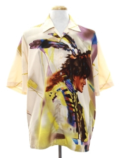 1990's Mens Club/Rave Style Shirt