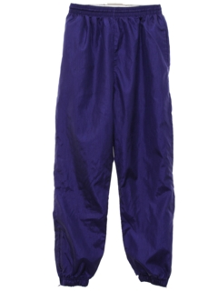 1980's Mens Baggy Totally 80s Track Pants