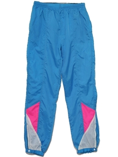 1980's Womens Designer Wicked 90s Track Pants