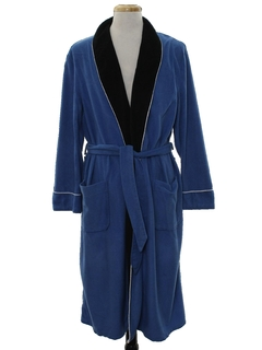 1970's Mens Smoking Jacket Style Robe