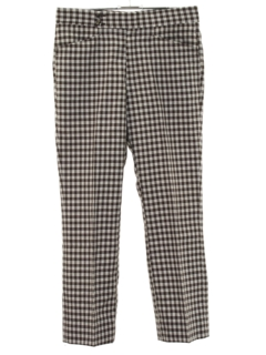 1970's Mens Leisure Style Golf Pants