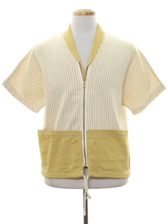 1950's Mens Resort Wear Beach Style Shirt Jacket
