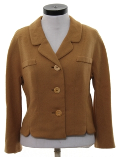 1960's Womens Mod Wool Jacket
