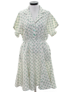 1950's Womens House Dress