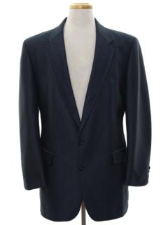 1980's Mens Western Blazer Sport Coat Jacket