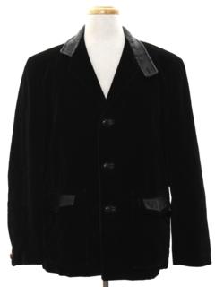 1960's Mens Corduroy Blazer Sport Coat Jacket