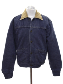 1970's Mens/Boys Denim Work Jacket