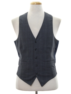 1980's Mens Suit Vest