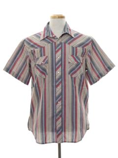 1990's Mens Western Shirt
