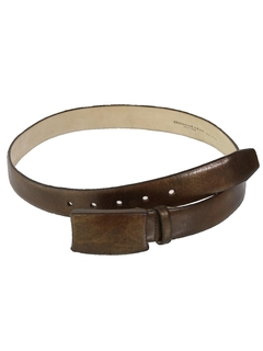 1980's Womens Accessories - Designer Leather Belt