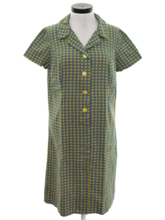 1960's Womens Shift Dress