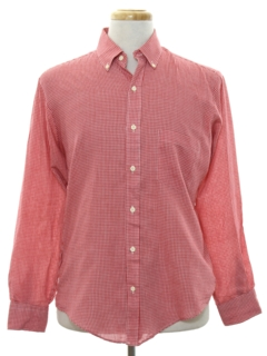 1970's Mens Preppy Shirt