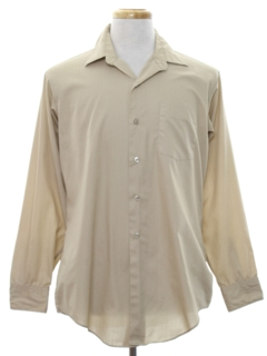 1960's Mens Military US Army Uniform Shirt