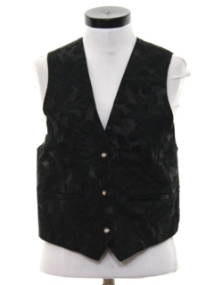 1980's Womens Totally 80s Suede Leather Vest