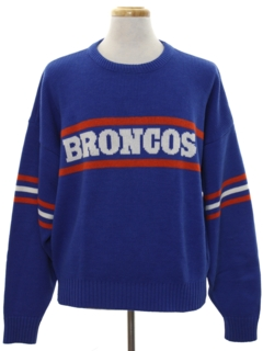 1980's Mens Broncos Sweater