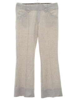 1970's Womens Flared Knit Western Leisure Pants