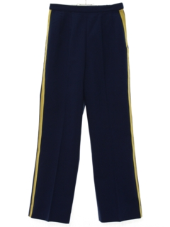 1970's Womens Band Uniform Slacks Pants