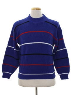 1980's Mens Totally 80s Ski Sweater