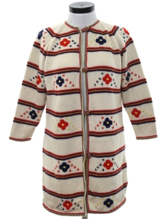 1970's Womens Mod Sweater Jacket