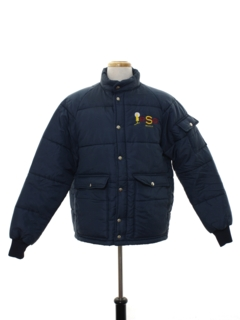1980's Mens Ski Style Work Jacket