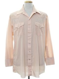 1980's Mens Western Shirt