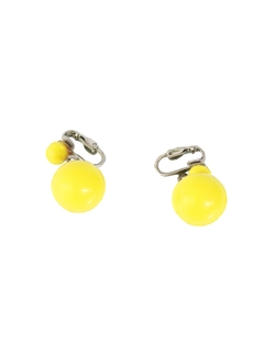 1960's Womens Mod Accessories - Mod Earrings