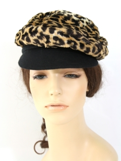 1970's Womens Accessories --Cap Hat