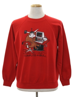 1980's Unisex Totally 80s Cheesy Sweatshirt