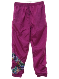 1980's Womens Baggy Track Pants