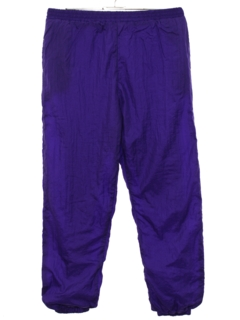 1980's Mens Baggy Track Pants