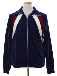 1980's Mens Totally 80s Track Jacket