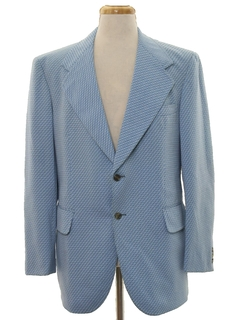 1970's Mens Disco Blazer Sport Coat Jacket