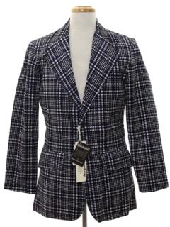 1970's Mens Corduroy Disco Blazer Sportcoat Jacket