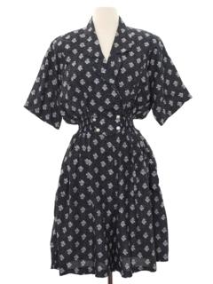 1980's Womens Skort Dress