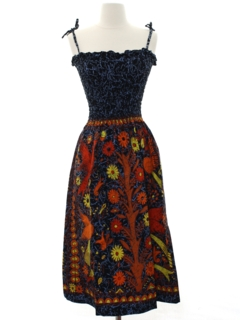 1990's Womens Hippie Dress