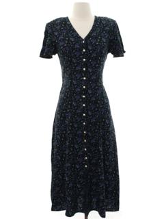 1980's Womens Wicked 90s Dress
