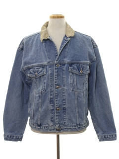 1990's Mens Wicked 90s Denim Jacket