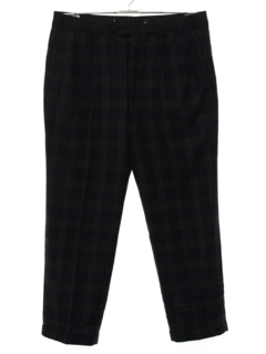 1980's Mens Wool Slacks Pants