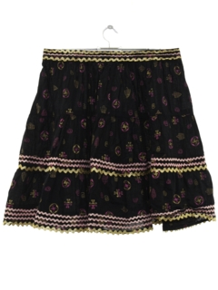 1950's Womens Square Dance Skirt