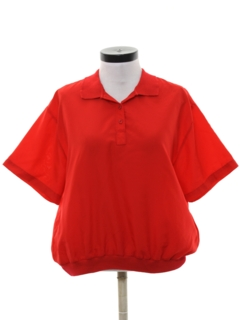 1980's Womens Resort Wear Style Golf Shirt